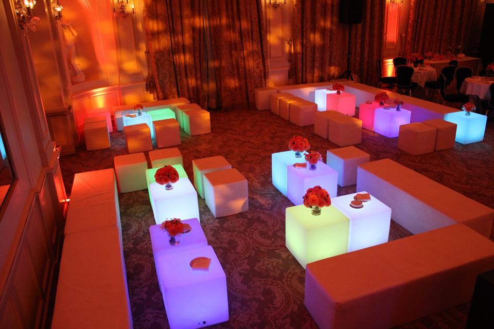 Espace lounge au Four Seasons